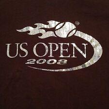 WOMEN'S VINTAGE 2008 US OPEN T SHIRT LARGE TENNIS