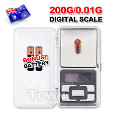 Electronic Pocket Mini Digital Jewellery Gold Weighing Scales 0.01G to 200 Grams