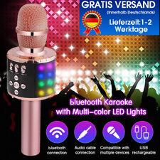 48 Licht Karaoke Mikrofon Wireless bluetooth Lautsprecher Mic Handhel