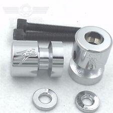 "Chrome Swingarm Spool ""Sun"" Logo For Suzuki RF900/R/SFV650 Gladius/SV1000"