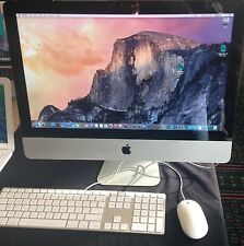 """Apple Imac 21.5"""" A1311 i5 2.5 Ghz  8 gig ram 500 hdd dvd/rw OSX El Capitan 10.11"""