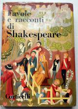 SHAKESPEARE. Favole e racconti. Corticelli 1945 - Tav. a colori di M. VAGAGGINI