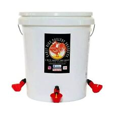 Early Bird Manuel Fill 5 Gallon Capacity Poultry Waterer