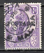 Malta - 1926 Definitive Melita overprinted - Mi. 103 VFU