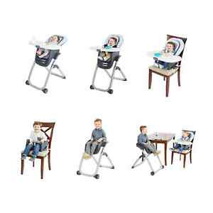 Graco DuoDiner DLX 6-in-1, 5-position height adjust Infant High Chair MSRP $199