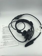MOTOROLA PMLN5391B ATEX LIGHTWEIGHT HEADSET WITH BOOM MIC FOR GP340, GP380
