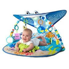Disney Baby Mr. Ray Ocean Lights Music Toys Activity Gym Play Mat Tummy Time
