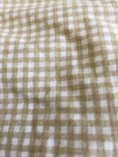 Ralph Lauren one Twin Fitted Sheet Gingham