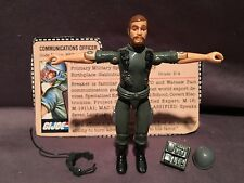 GI Joe 1982 Straight Arm Breaker w/ Filecard 100% Complete