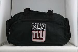 Super Bowl XLVI SUPER BOWL CHAMPIONS GIANTS 2012 Officially Licensed NFL Duffel