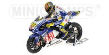 1:12 Minichamps Valentino Rossi Yamaha + Figure Figurine Valencia 2009 RARE NEW