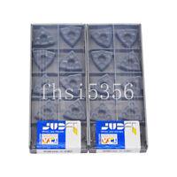 10pcs ISCAR WNMG432-TF WNMG080408-TF IC907 Carbide inserts Free Shipping
