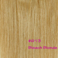 One Piece 100% Remy Clip In Human Hair Extensions 3/4 Full Head Best Weft USQ926