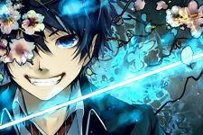 "15 Ao no Blue Exorcist - Japan Anime 21""x14"" Poster"