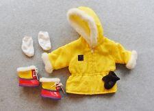 American Girl Doll Clothes Lot Tubing Parka Coat Snow Boots Socks Pleasant Co