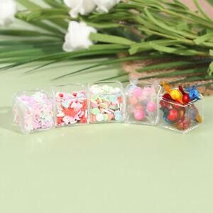 1/12 Miniatures Decoration Miniature Candy Box Doll House AccessoriSK BOD