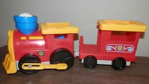 Fisher Price Little People 2012 RR Train Car and engine
