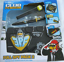 Disney Club Penguin Full Spy Pack 2 Nintendo DSi DSL 3DS NEW & SEALED