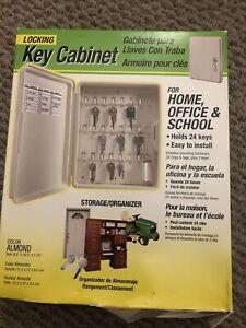 Hy-Ko KO302 Lockable Plastic Storage Cabinet holds Twenty-Four (24) Keys