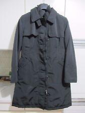 Geox  capotto lungo colore nero da donna molto caldo ed elegante come nuovo tg46