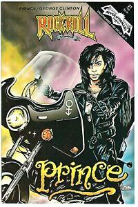 "Rock N'  Roll Comics #21 (1991) FN/VF-VF- 1st Print  ""Prince - George Clinton"""
