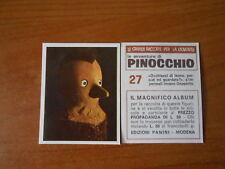 figurina PINOCCHIO n.27 - ed. PANINI 1972