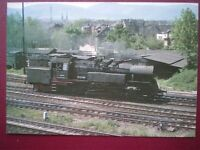 POSTCARD GERMAN STATE RAILWAY 65 CLASS LOCO  65 1049 AT BERLIN 1978