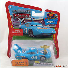 Disney Pixar Cars Chase The Kingwith Gold Piston Cup #101 WoC World of Cars