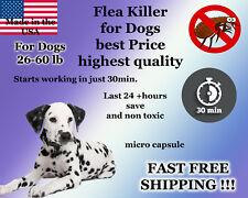 50 Capsules Instant Flea Killer Control medium Dogs 26-60lb prevention NEW 35mg