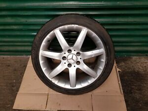 """Mercedes C Class W203 16"""" inch Single Alloy Wheel With Tyre 225 45 R17 ref466"""
