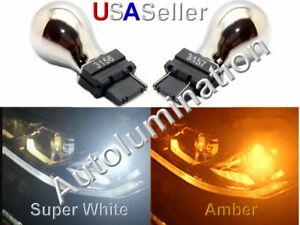 3156 3157 3057 4057 4157 Chrome Stealth Light Bulb Lamp Tail Brake Turn Signal