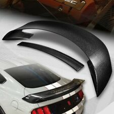 For 2015 2020 Ford Mustang Gt350r Style Real Carbon Fiber Rear Trunk Spoiler Fits Mustang