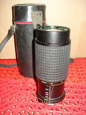 Quantaray Auto Zoom 80-200mm f1:3.8 Macro 58