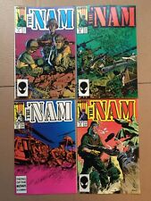 The 'Nam 11, 12, 13 and 14 (MARVEL 1986)