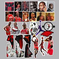 52 Jordan Basketball Shoe Sticker Vinyl Skateboard Guitar Travel Case Pack Decal