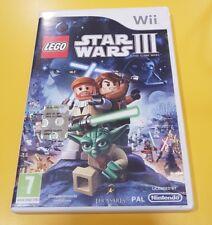 Lego Star Wars 3 III The Clone Wars GIOCO WII VERSIONE ITALIANA
