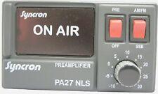 SYNCRON PA27 NLS PREAMPLIFIER + 25dB CB RADIO / + 0474