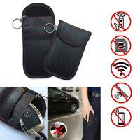 Car Key Signal Blocker Box Fob Pouch Case Keyless Rfid Blocking Bag Faraday Cage