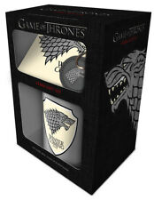 Game Of Thrones Stark  Mug ,Coaster & Key Chain Ring Gift Set GP85141
