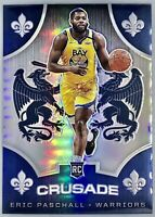 2019-20 Panini CHRONICLES Eric Paschall Silver Prizm Crusade ROOKIE Card Rc 📈🔥