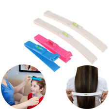 2pcs/set Professional Bangs Hair Cutting Clip Comb Hairstyle Trim Tool