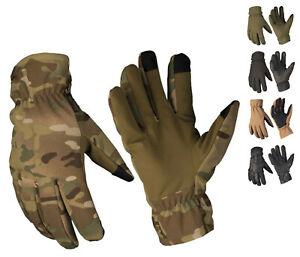 NEU Softshell Handschuhe THINSULATE Thermohandschuhe BW Winterhandschuhe S-2XL