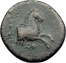 Kolophon Colophon IONIA 360BC Authentic Ancient Greek Coin APOLLO & HORSE i63129