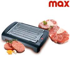 Barbecue Elettrico da Tavolo Master Grill BBQ Termostato Regolabile Griglia 2200