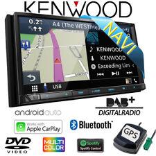 Kenwood DNX7190DABS 2DIN Navigation Bluetooth AndroidAuto CarPlay DAB+ Autoradio