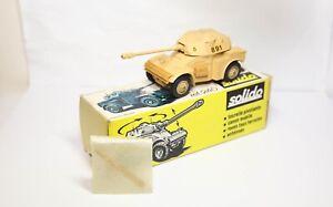Solido 240 Panhard AML 90 In Its Original Box - Near Mint Vintage Model Lot 1