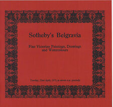Sotheby's Belgravia- Victorian Paintings, Drawings, and Watercolours Apr 22 1975