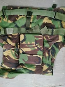 British Army Body Armour ECBA DPM with 2 x Plates and Filler