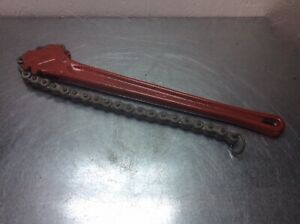 "Rigid C-18 Chain Wrench 18"""