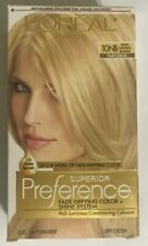 LOreal Paris Superior Preference Permanent Hair Color 10NB Ultra Natural Blonde.